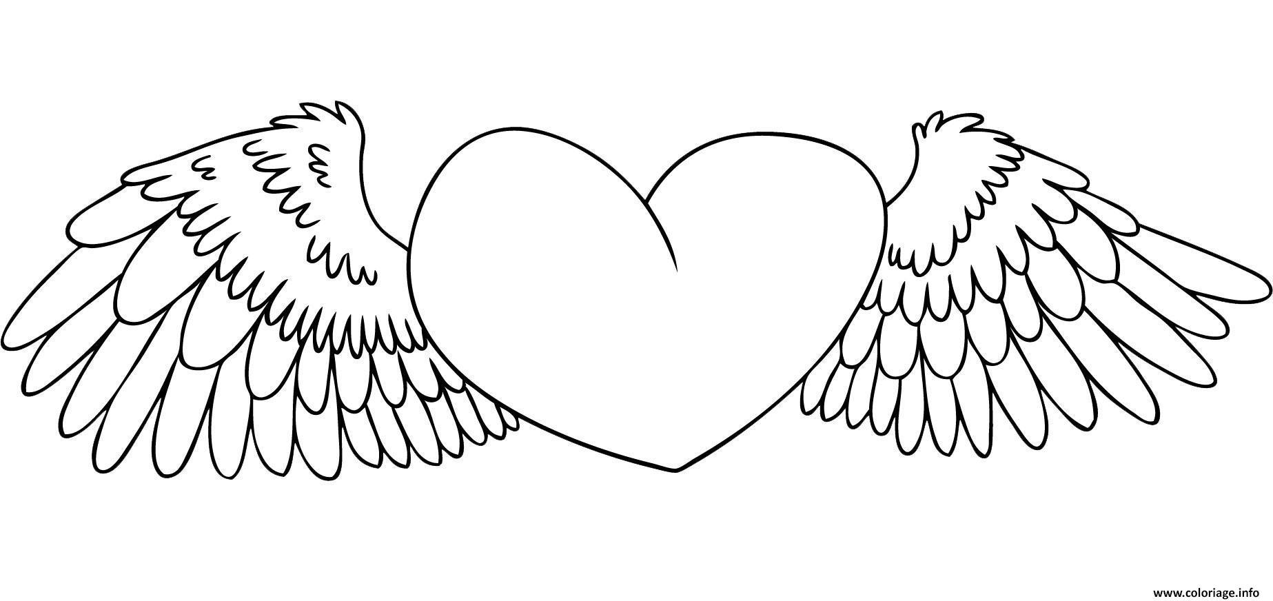 Coloriage Coeur 70 Dessin