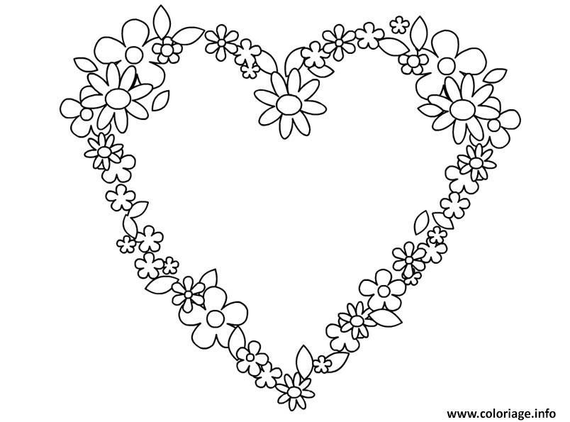 Coloriage Coeur Motif.Coloriage Coeur Saint Valentin 148 Jecolorie Com