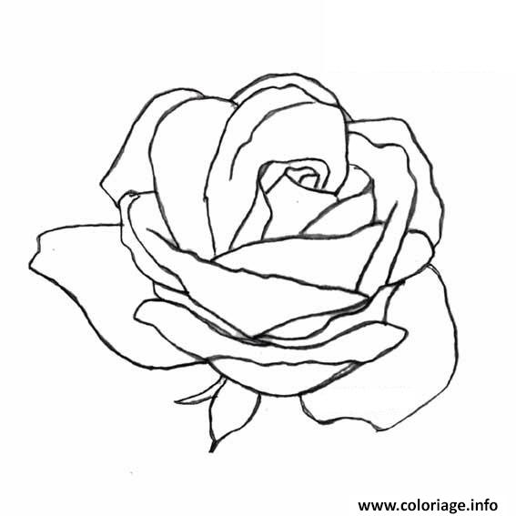 coloriage rose et coeur 145 dessin. Black Bedroom Furniture Sets. Home Design Ideas