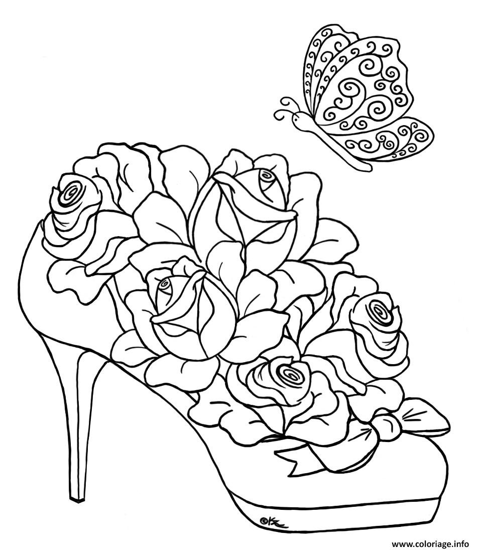 coloriage roses 188. Black Bedroom Furniture Sets. Home Design Ideas