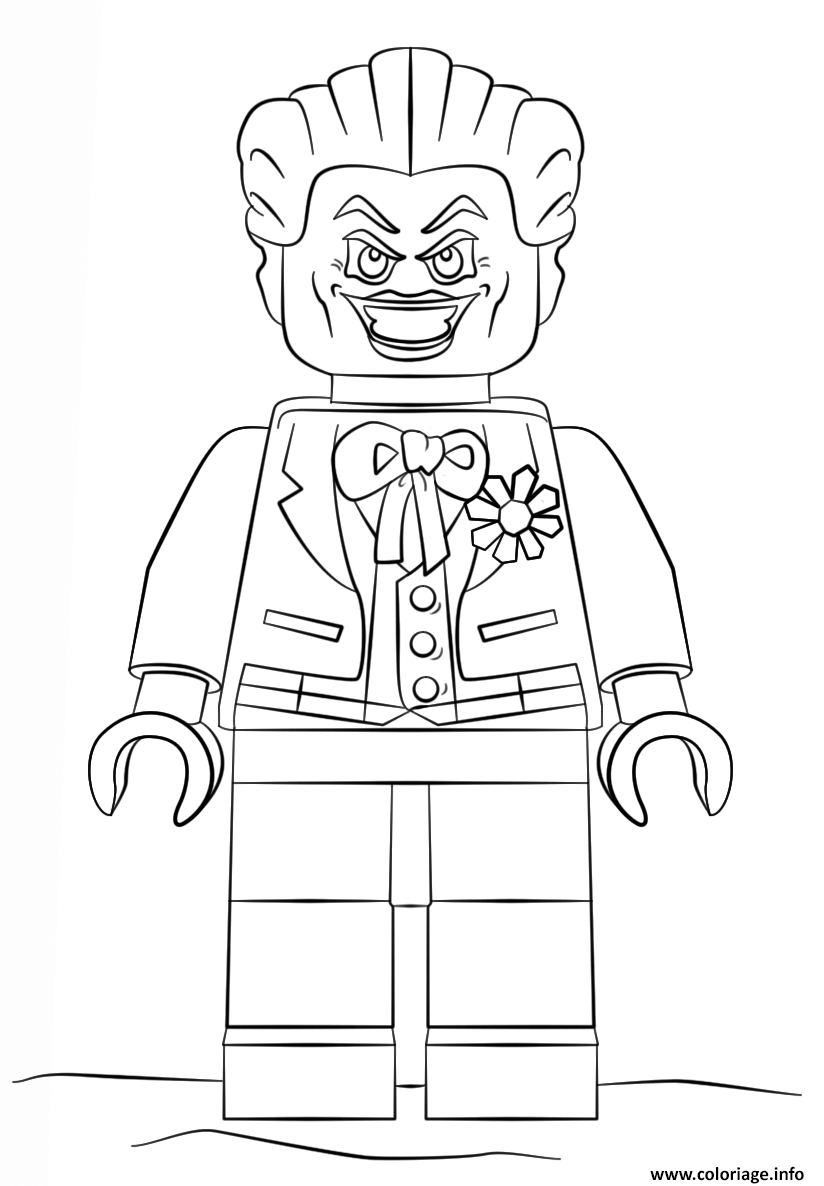 Coloriage lego joker batman - Coloriage a imprimer batman ...