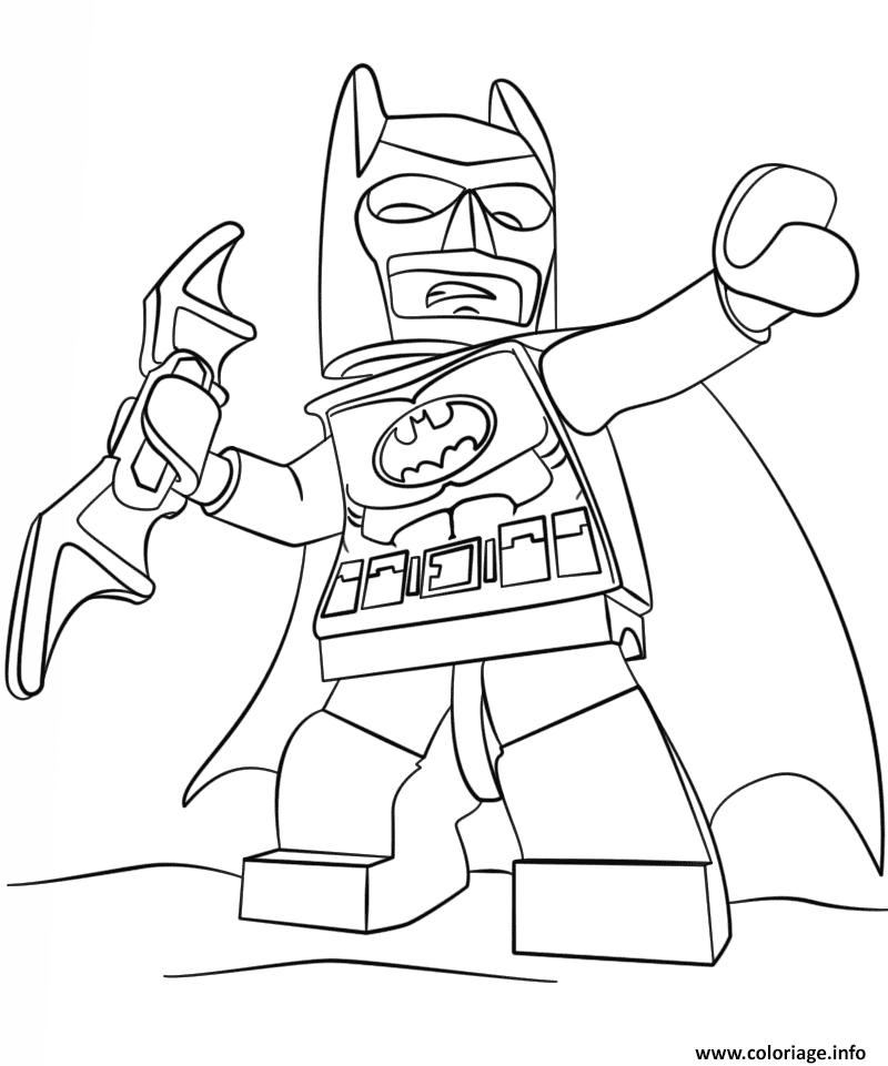 Coloriage Lego Batman 3 Film 2017 Dessin