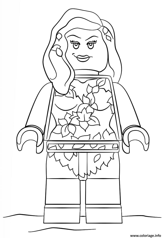 Coloriage En Ligne Gratuit Batman.Coloriage Lego Batman Poisin Ivy Dessin