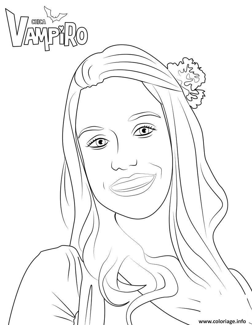 Coloriage marylin chica vampiro dessin - Coloriage de chica vampiro ...