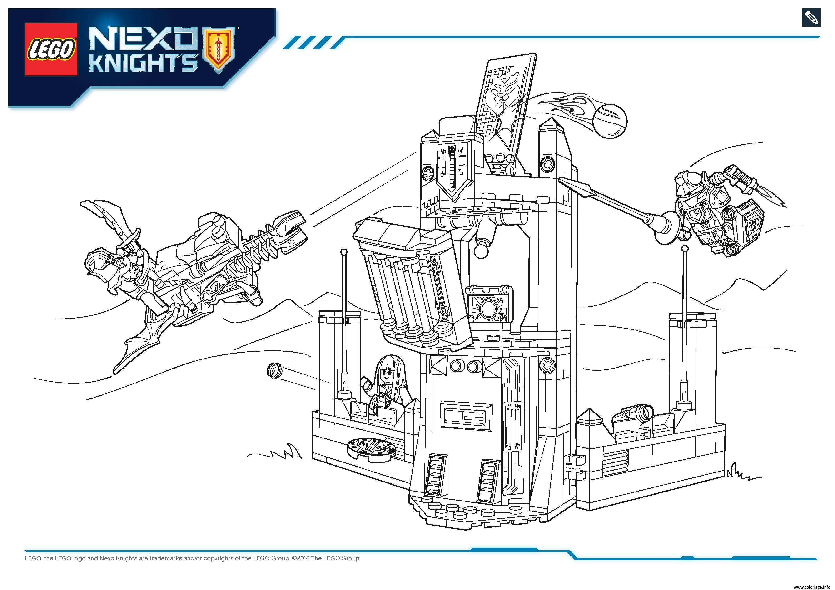 coloriage lego nexo knights file page6 dessin. Black Bedroom Furniture Sets. Home Design Ideas