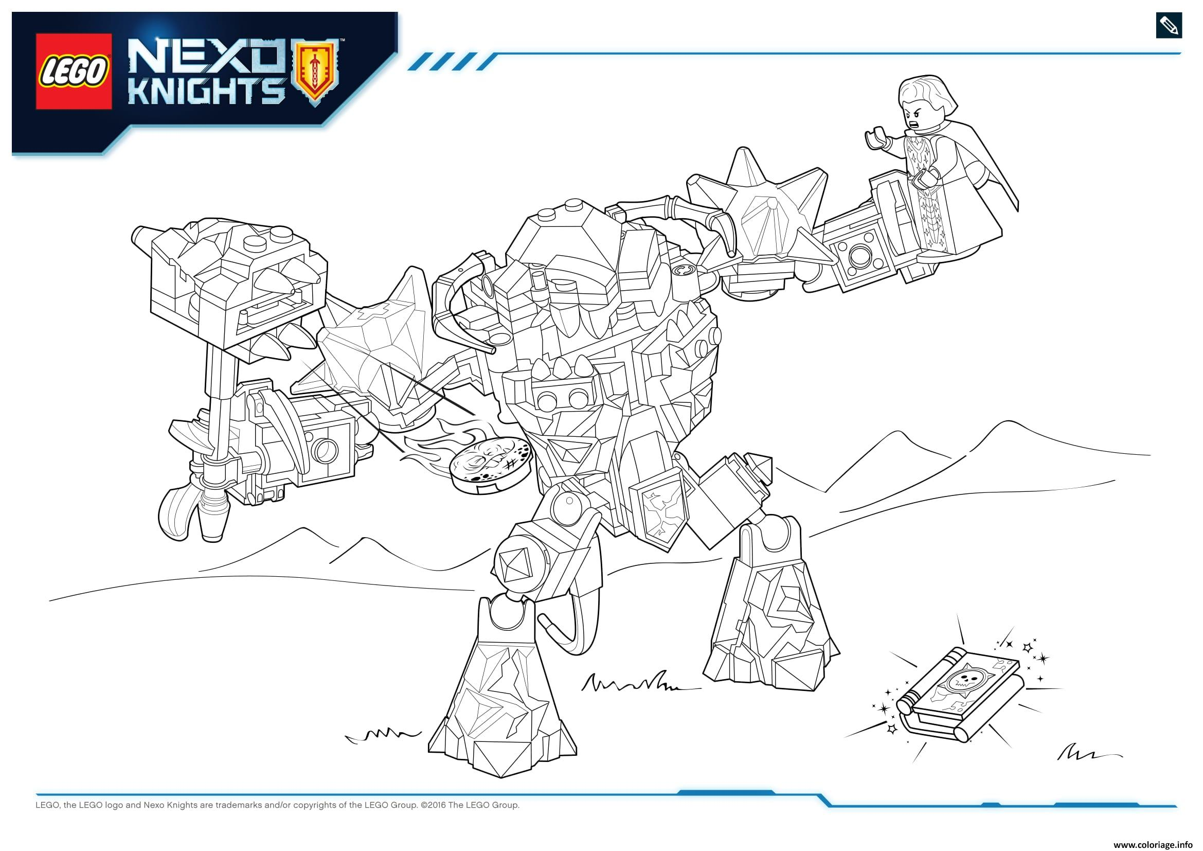Coloriage Lego Nexo Knights Monster Productss 3 Dessin à Imprimer