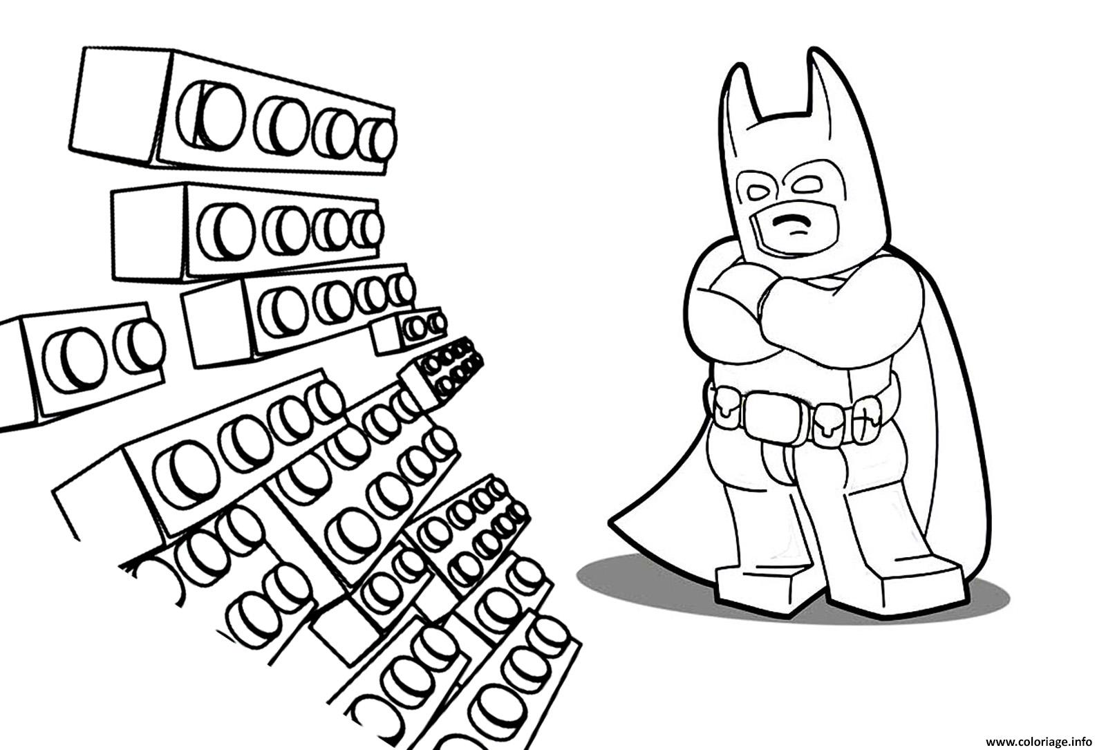 Coloriage Lego Batman Movie Adventure Kids Dessin