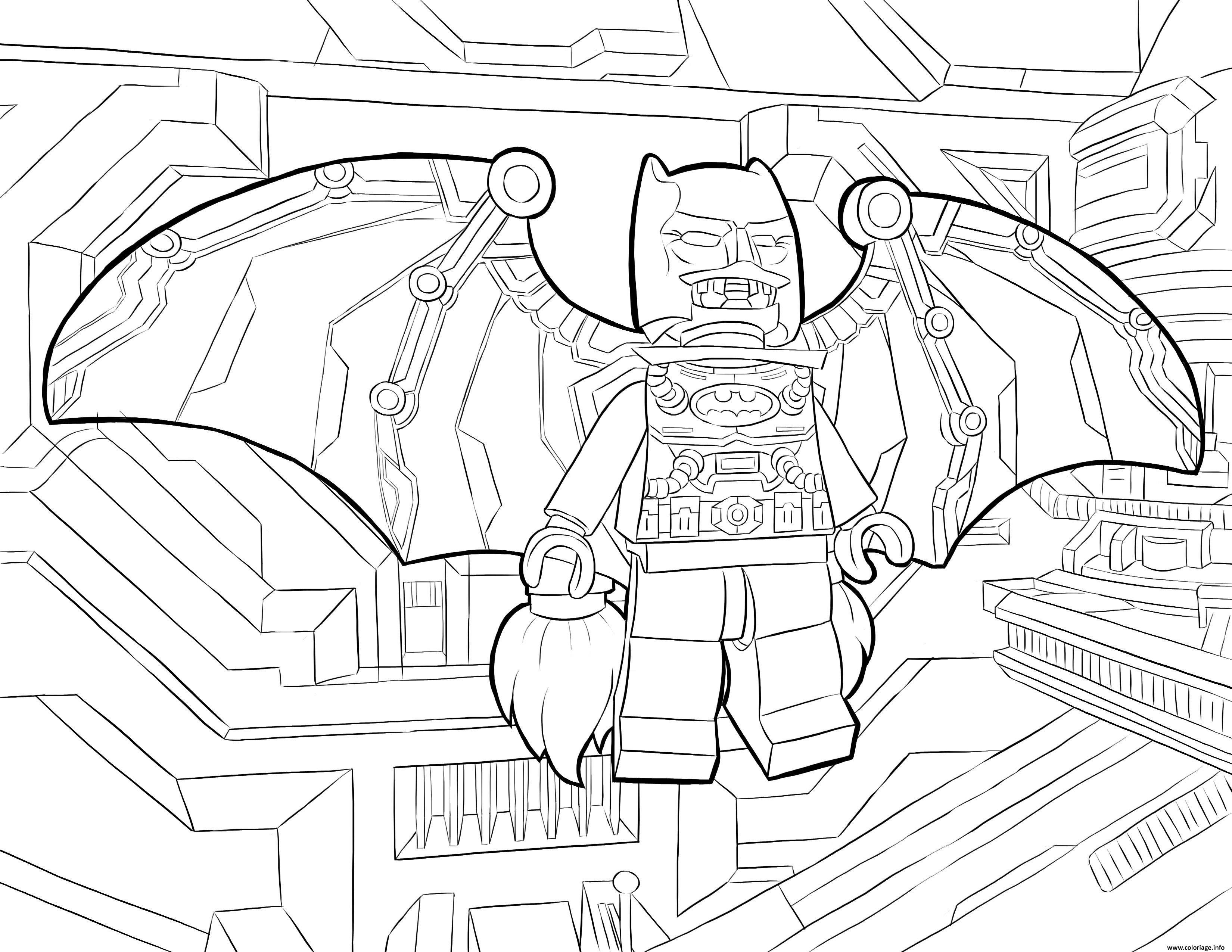 Luxe Dessin 0 Colorier Batman