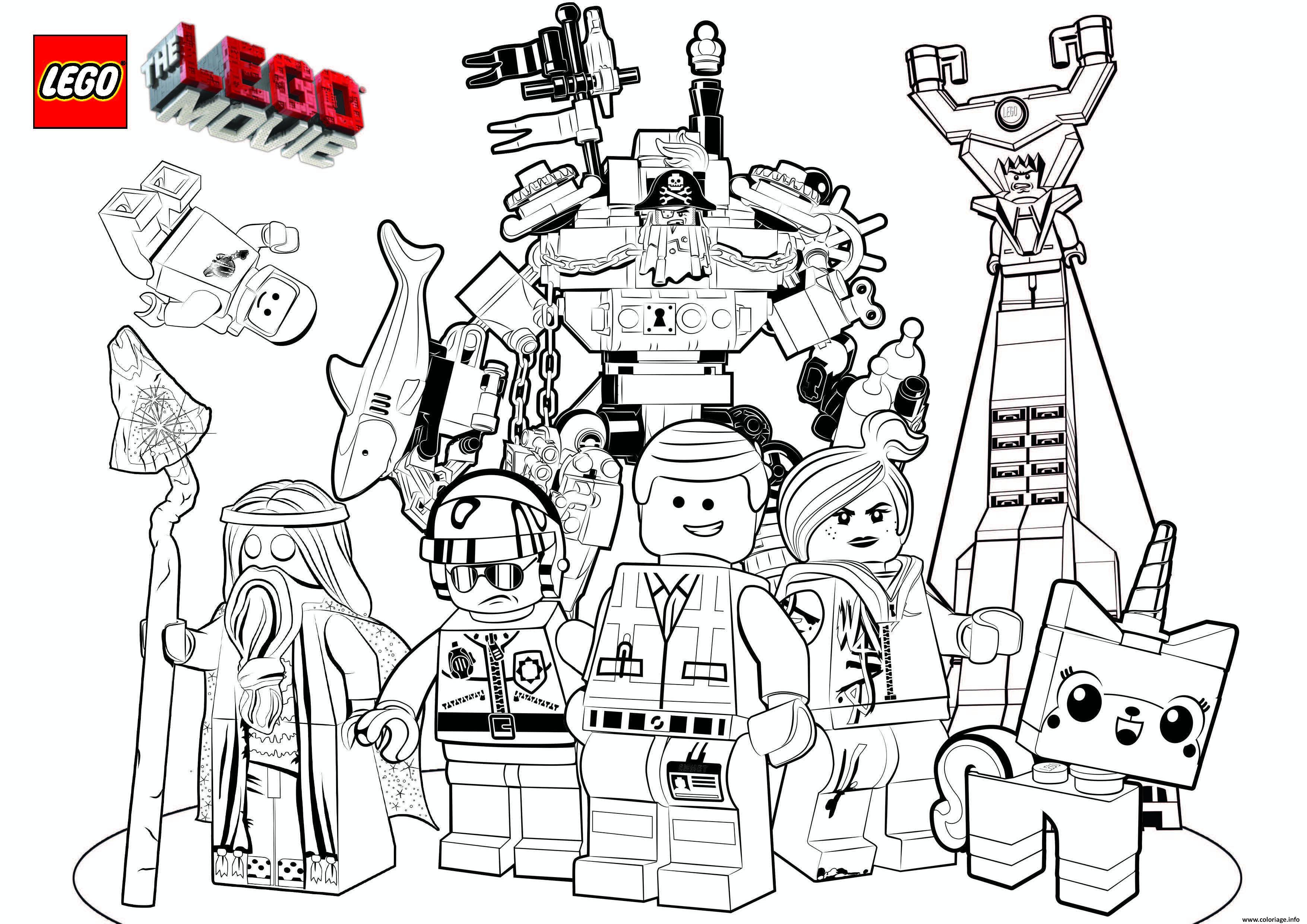 Coloriage Lego Marvel A Imprimer