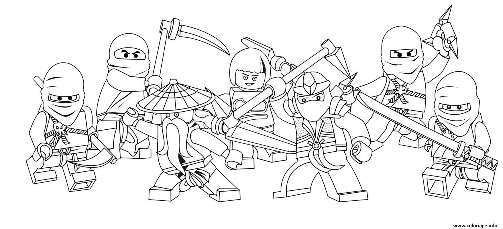 Coloriage Lego Marvel Vs Ninjago Lego Dessin