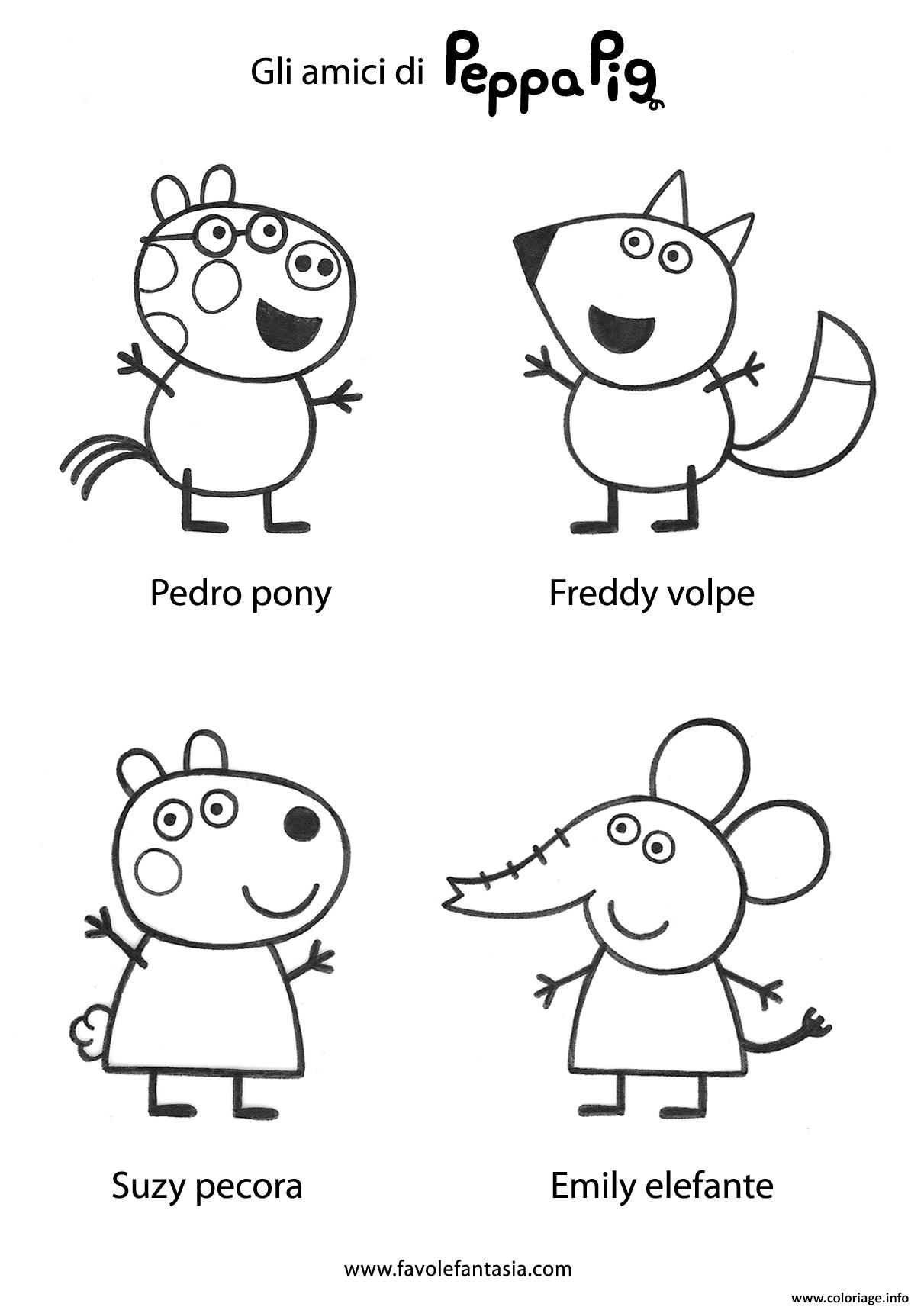 Coloriage Peppa Pig 78 dessin