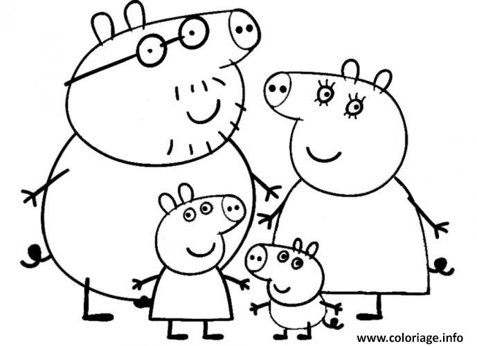 Coloriage peppa pig 86 dessin - Coloriages peppa pig ...