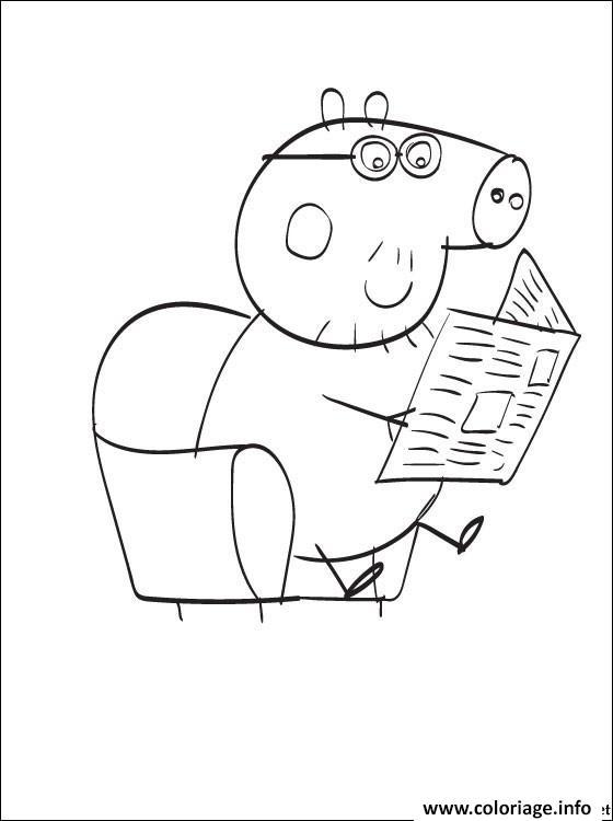 Dessin peppa pig 263 Coloriage Gratuit à Imprimer
