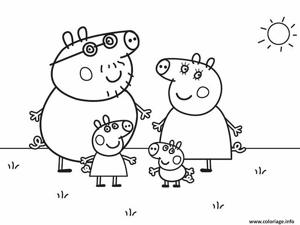 Coloriage peppa pig 274 dessin - Coloriages peppa pig ...