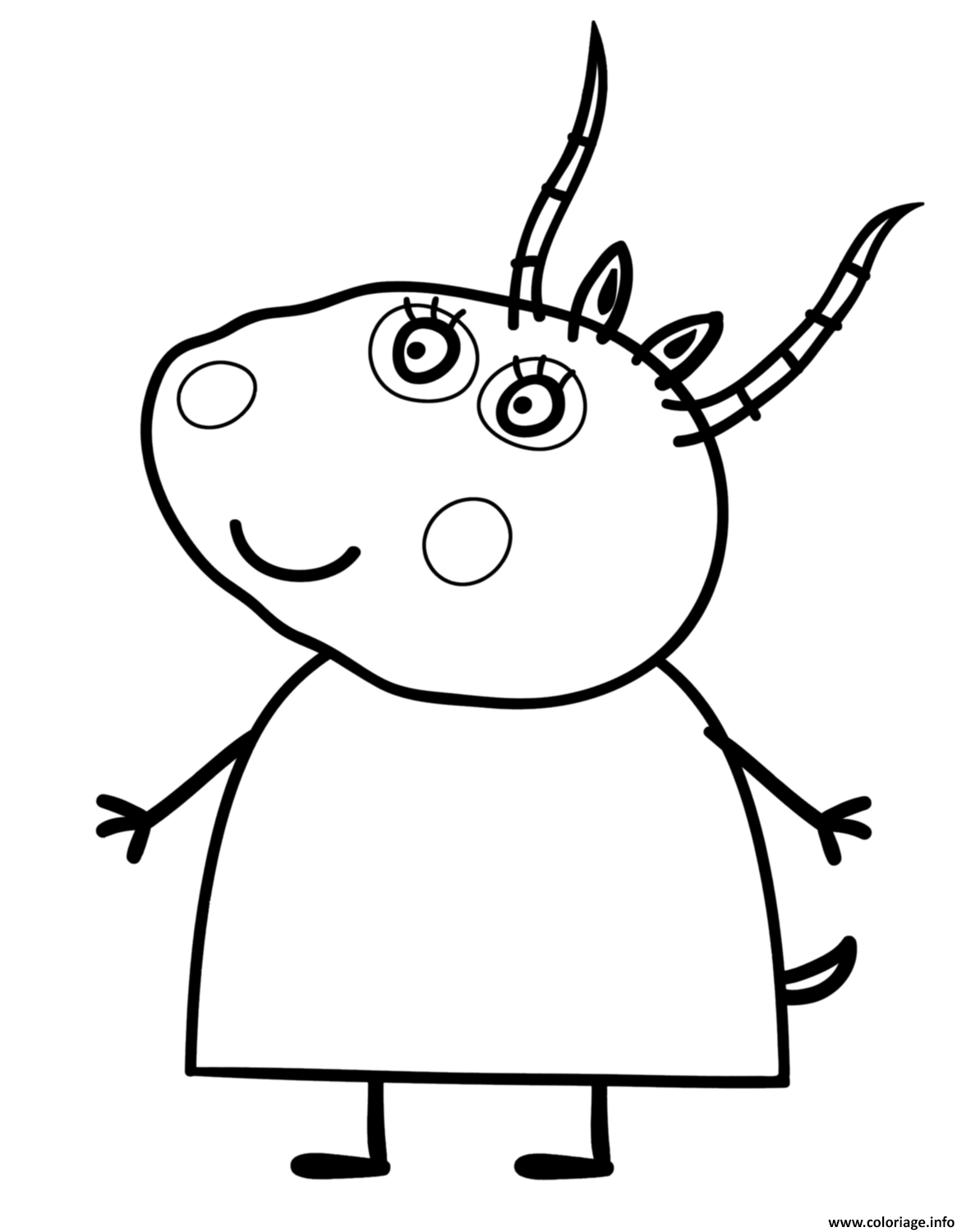 Coloriage peppa pig 150 dessin for Peppa pig coloring pages pdf