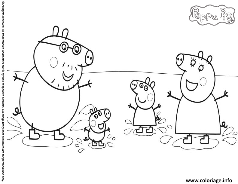 Coloriage peppa pig 267 - Coloriages peppa pig ...