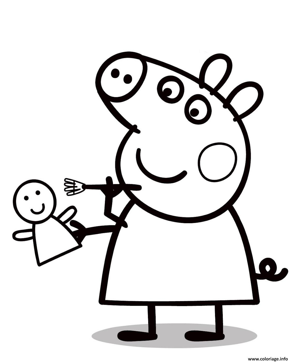 Coloriage peppa pig 69 - Coloriages peppa pig ...