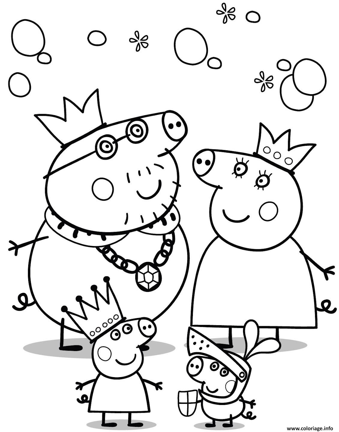 peppa pig 137 coloriage