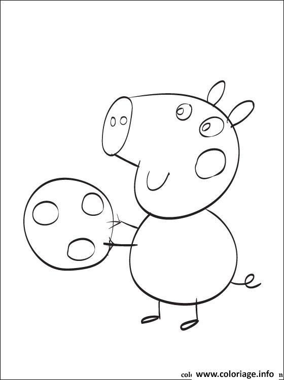 Dessin peppa pig 94 Coloriage Gratuit à Imprimer