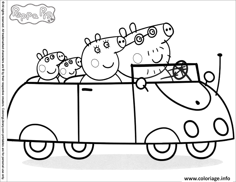 Coloriage peppa pig 88 - Coloriages peppa pig ...