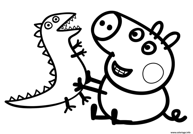 Coloriage Peppa Pig 7 Dessin Peppa Pig A Imprimer