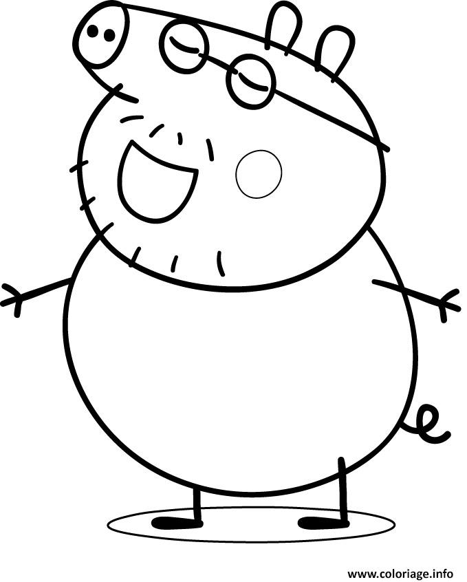 Coloriage peppa pig 70 dessin - Coloriages peppa pig ...