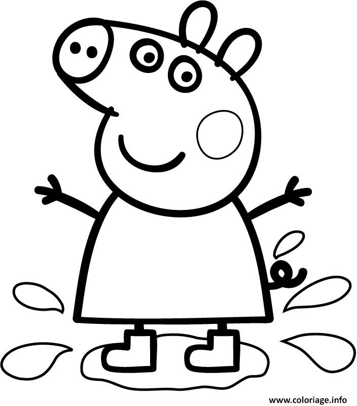 Coloriage peppa pig 247 - Coloriages peppa pig ...