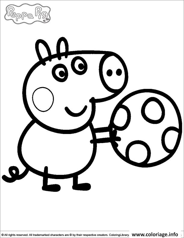 Dessin peppa pig 29 Coloriage Gratuit à Imprimer