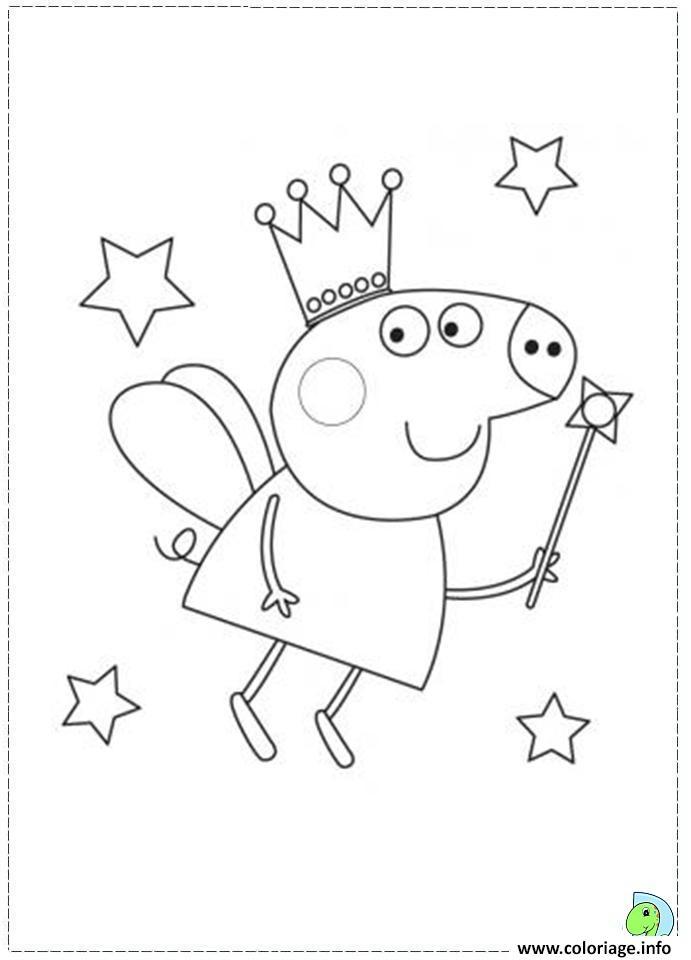 Coloriage Peppa Pig 37 dessin