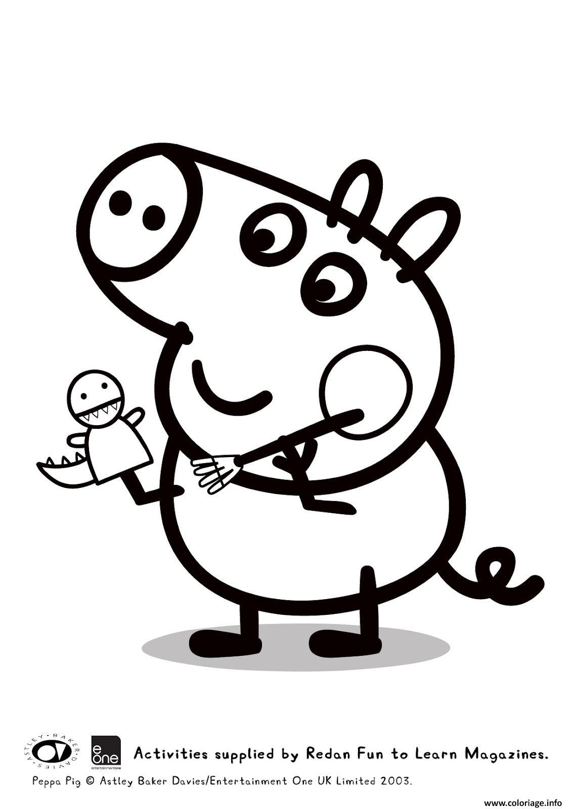 Coloriage peppa pig 93 dessin - Cartone animato animali da colorare pagine ...