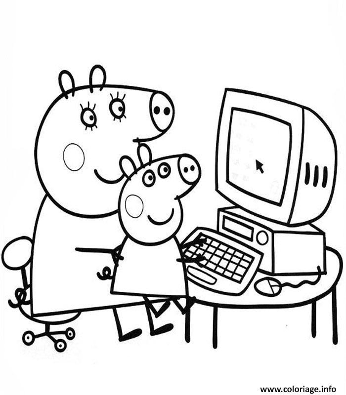 Coloriage peppa pig 196 dessin - Dessin a imprimer peppa pig ...