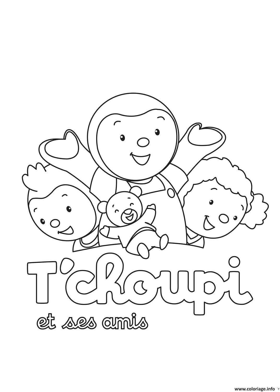 Coloriage tchoupi 48 dessin - Dessin de doudou ...