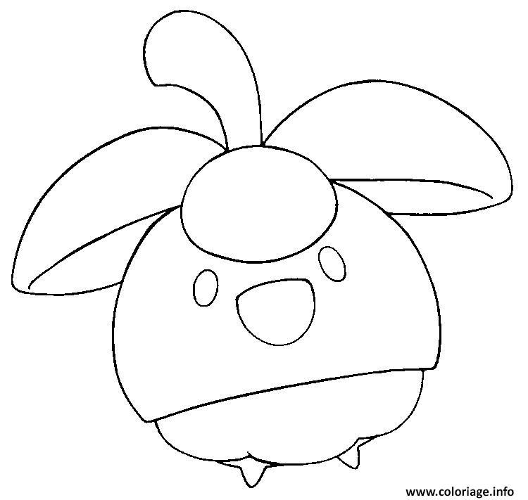 Coloriage croquine pokemon soleil lune dessin - Dessin pokemon soleil et lune ...