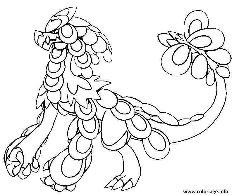 Coloriage Ekaiser Pokemon Soleil Lune Dessin