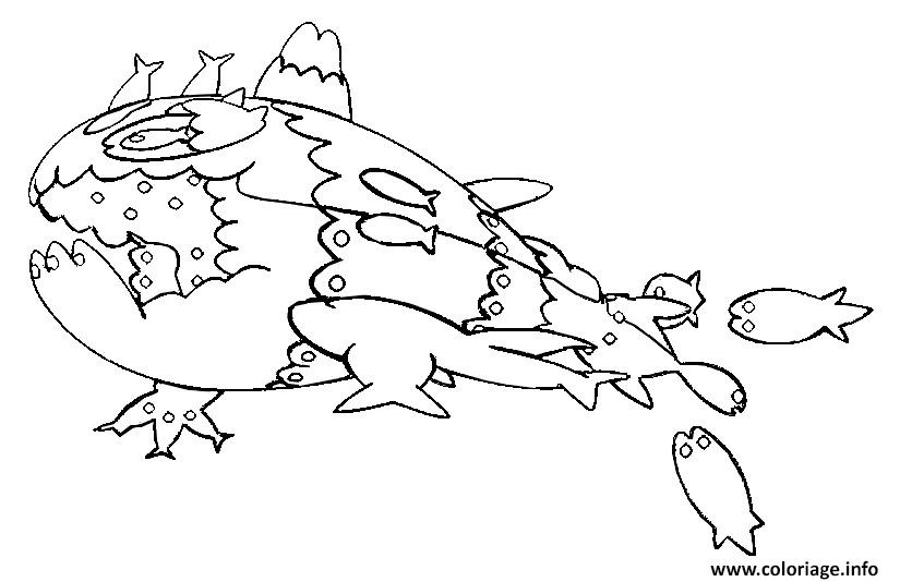 Coloriage froussardine pokemon soleil lune dessin - Coloriage pokemon lune ...