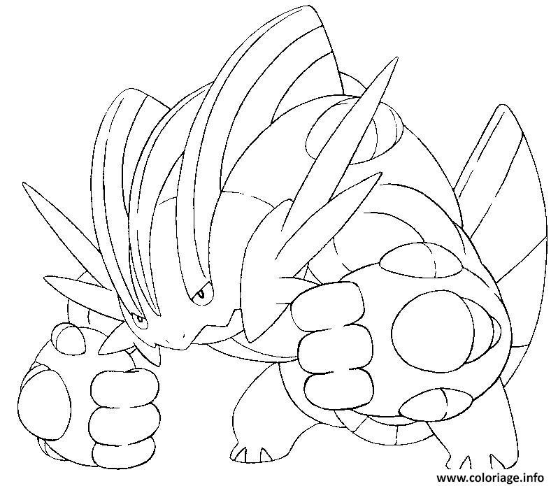 Coloriage Pokemon Mega Evolution Laggron 260 Dessin