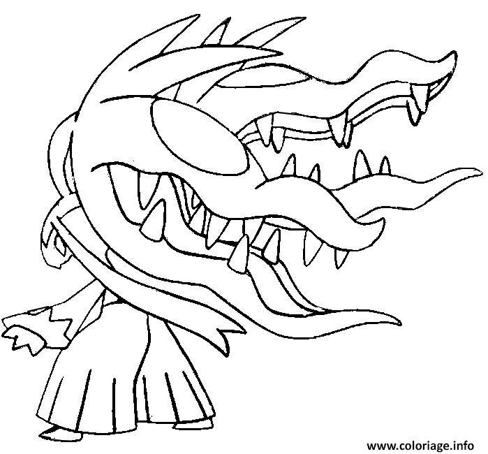 Coloriage Pokemon Lucario