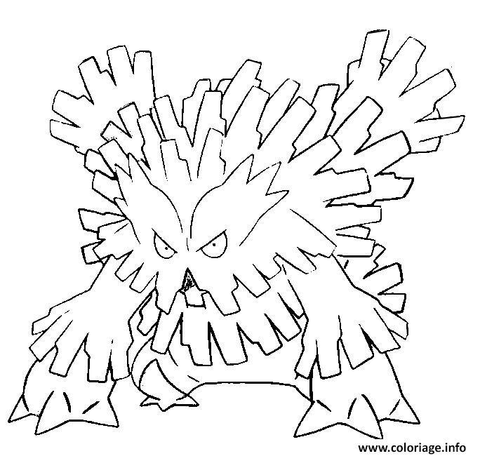 Coloriage pokemon mega evolution blizzaroi dessin - Pokemon a imprimer mega evolution ...