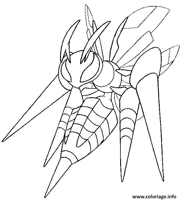 Coloriage pokemon mega evolution dardargnan 15 dessin - Pokemon a imprimer mega evolution ...