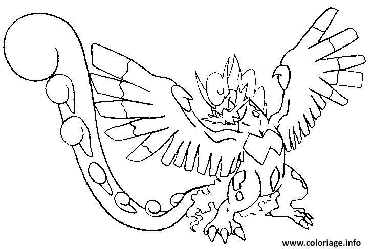 coloriage 641 boreas forme alternative dessin
