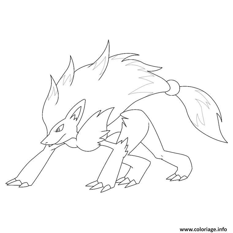 Coloriage Pokemon Noir Et Blanc Legendaire 5 Dessin