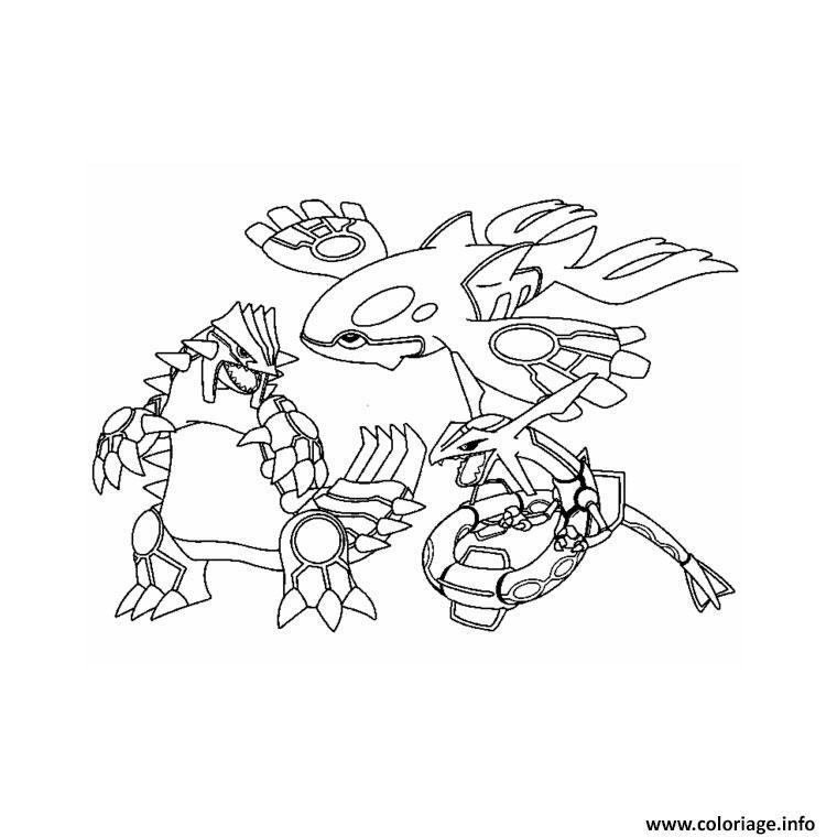 Coloriage Pokemon Noir Et Blanc Legendaire 4 Dessin