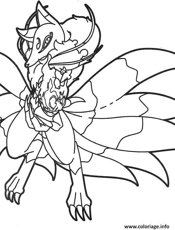 Assez Coloriage Yo Kai Yokai Watch Dragon dessin HF14