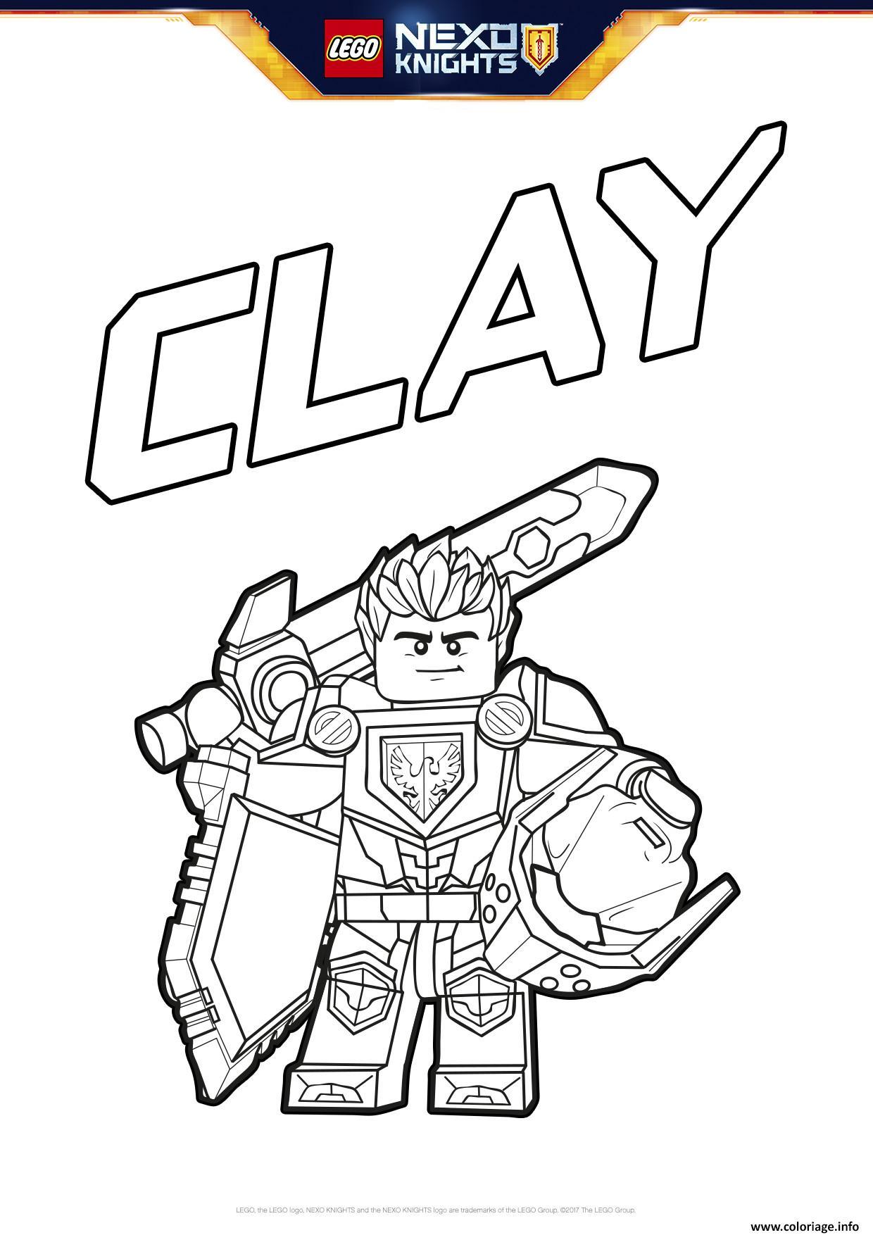 Coloriage lego nexo knights bouclier clay dessin - Dessin de ninjago a imprimer ...