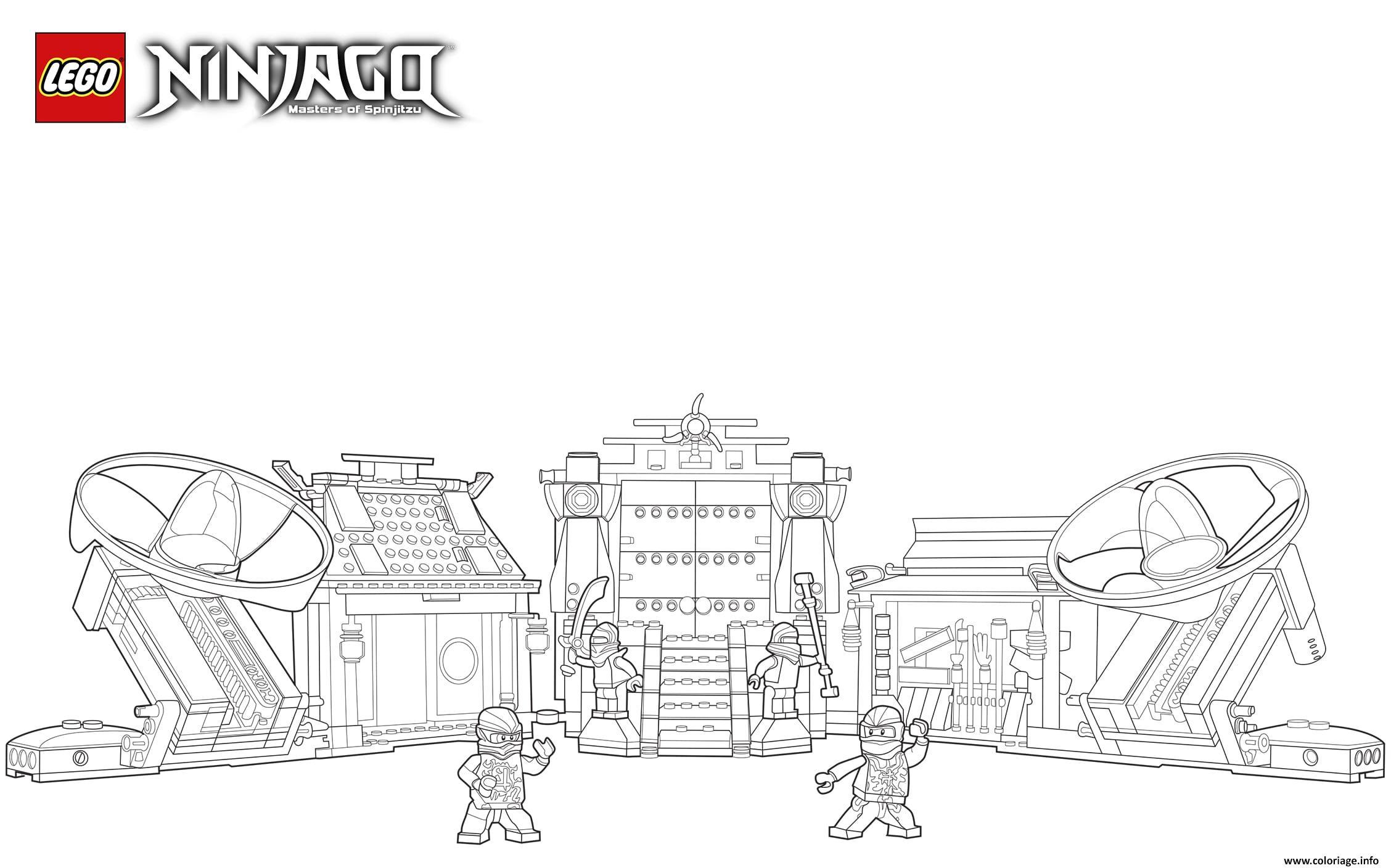 Coloriage lego ninjago llyod kai vert dessin - Dessin de ninjago a imprimer ...