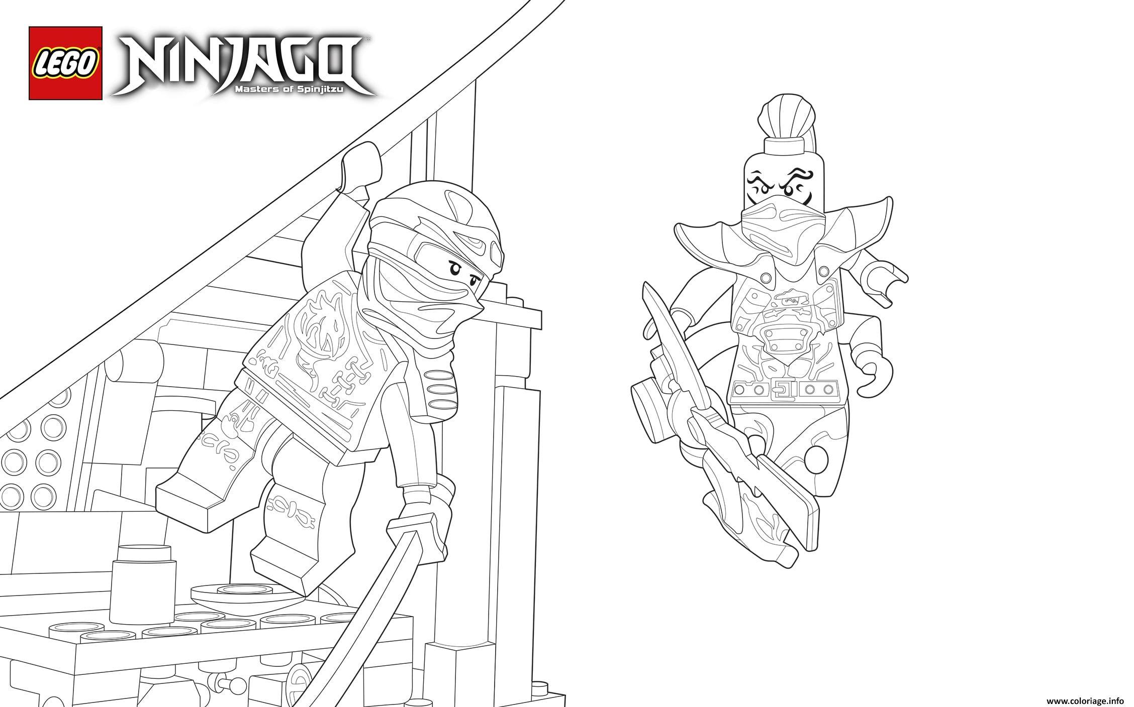 Coloriage lego ninjago llyod vert imprime dessin - Ninjago a imprimer ...