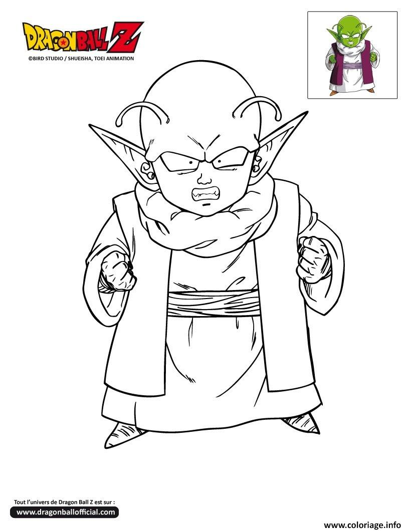 Coloriage dbz dende dragon ball z officiel dessin - Dessin de dragon ball za imprimer ...