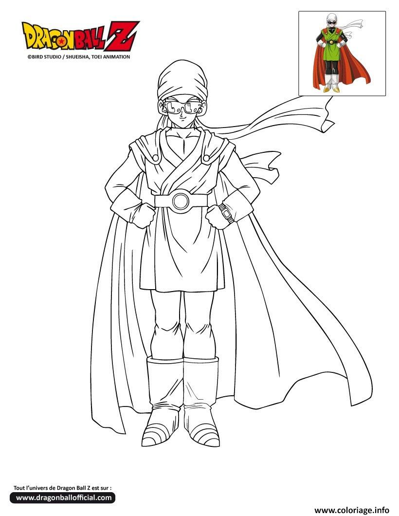 dbz gohan sous les traits du great saiyaman dragon ball z officiel coloriage