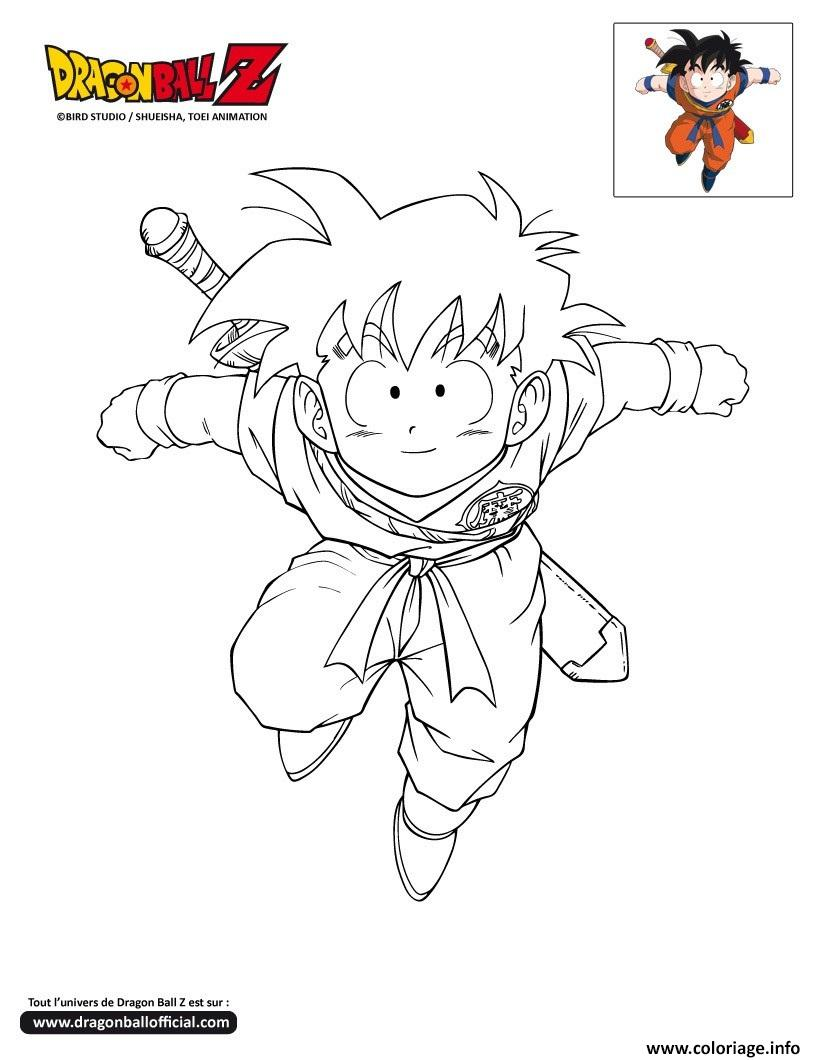 Coloriage dbz gohan dragon ball z officiel dessin - Dessin de dragon ball super ...