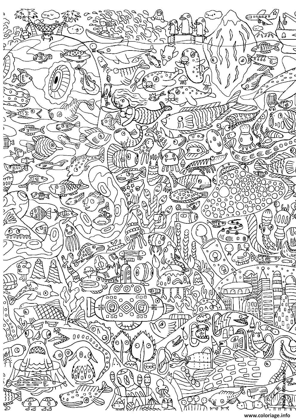 Coloriage pour adultes 13 dessin - Coloriages pour adultes ...